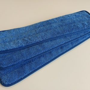 Blå mikrofiber moppe af 3