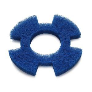 Blå rondel mellemstandard rengøring