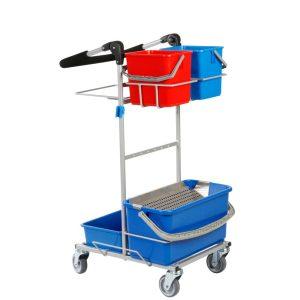 Ergonomisk rengøringsvogn med drypsystem i mini udgave