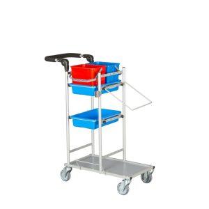 Ergonomisk og kompakt rengøringsvogn model 5