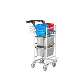 Ergonomisk og kompakt rengøringsvogn model 4