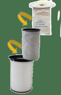 HEPA filter til rygstøvsuger