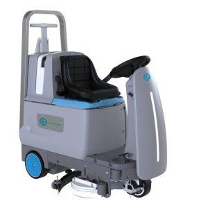 i-drive gulvvaskermaskine