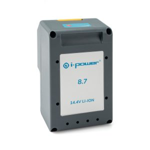 i-power 8.7 batteri front