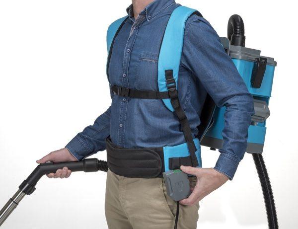 i-vac 4B Move monteret på person