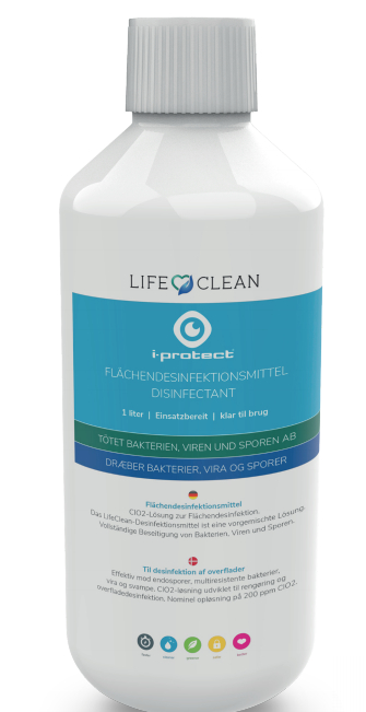 LifeClean desinfektion 1 liter